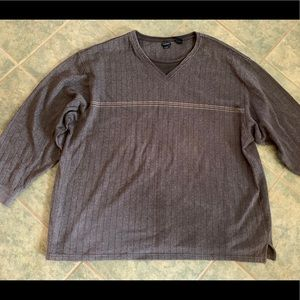 🎀3/$25🎀 Brown lightweight sweater size 2XLT, EUC